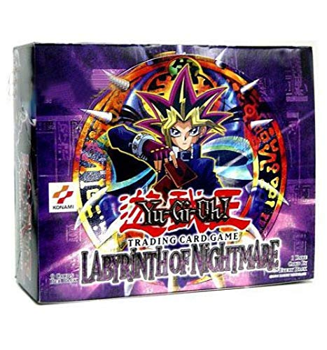 Yugioh Card Game - Labyrinth Of Nightmare Booster Box - 36P9C ()