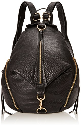 Rebecca Minkoff Julian Backpack Handbag, Black/Black,One Size by Rebecca Minkoff