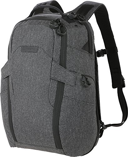 Maxpedition Gear Entity 27 CCW-Enabled Laptop Backpack 27L for Covert Concealed Carry, Charcoal