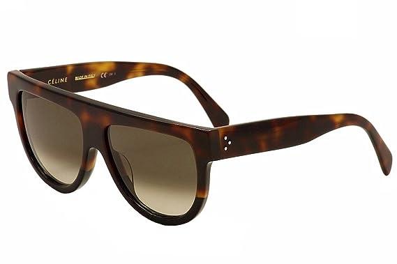 fd75abf100 Amazon.com  Celine Womens Women s Cl41026 58Mm Sunglasses  Clothing