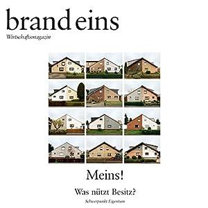 brand eins audio: Meins Hörbuch