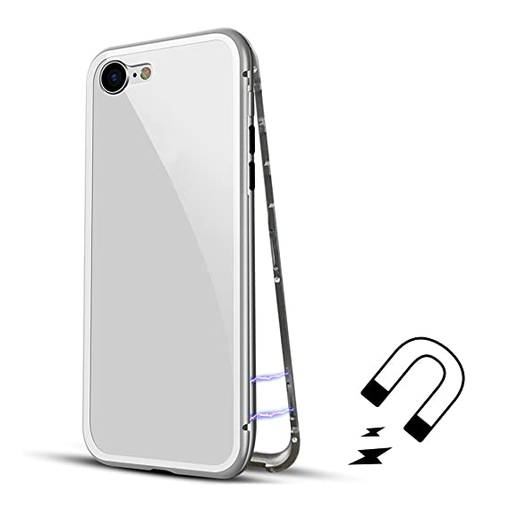 new concept 985e7 cb654 Amazon.com: Luxury Magnetic Adsorption Case for iPhone 6/6s 4.7 ...