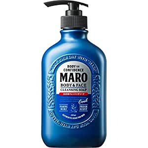 MARO Body & Face Cleansing Soap (Cool), 400ml