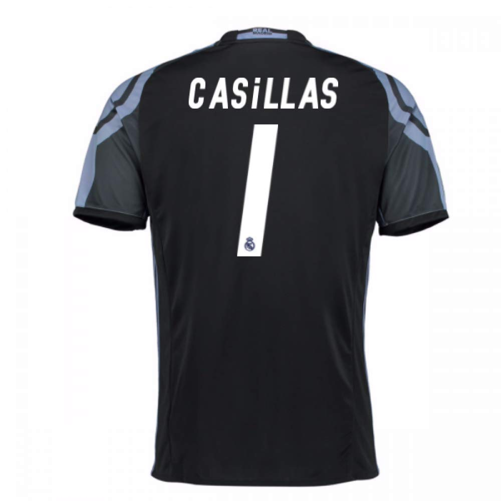 2016-17 Real Madrid 3rd Football Soccer T-Shirt Trikot (Iker Casillas 1) - Kids