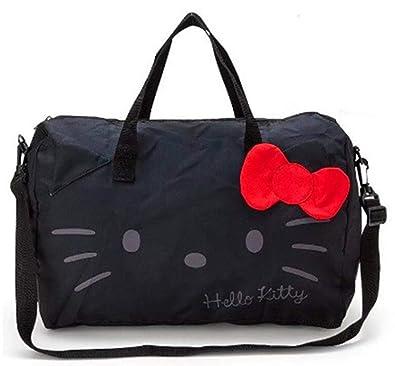 d0a291c9c Amazon.com: Hello Kitty Foldable Folding Trolley Travel Bag Women Girls Tote  Duffle Bags Hand Luggage XY-036B: Shoes