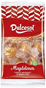 DULCESOL 🍞😋 Magdalenas - 18 unidades 🍞😋: Amazon.es ...