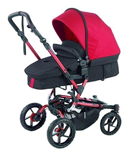 Jané Crosswalk Convert - Cochecito de paseo, dos piezas, color rojo: Amazon.es: Bebé