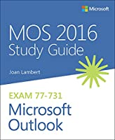 MOS 2016 Study Guide for Microsoft Outlook Front Cover