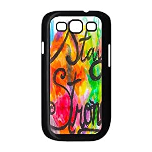 Stay Strong Brand New Cover Case for Samsung Galaxy S3 I9300,diy case cover ygtg607817