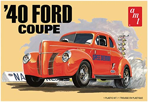 AMT AMT1141 1:25 1940 Ford Coupe, Multi - Ford Truck 1940