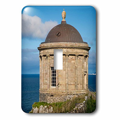 3dRose Danita Delimont - Northern Ireland - Mussenden Temple near Castlerock, County Londonderry, Northern Ireland - Light Switch Covers - single toggle switch - Castlerock Outlet