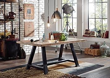 Tavolo Da Pranzo Industriale : Tavolo da pranzo legno antico multicolore laccato