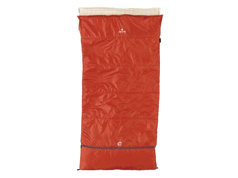 Snow Peak Ofuton Wide Sleeping Bag - Red