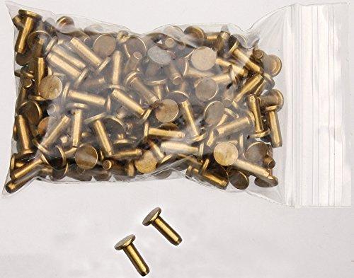 Brass Handle Pin - Schrade S248 Knifemaking Handle Pins Brass construction. 1/4