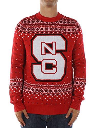 (Men's North Carolina State University Sweater: X-Large Red)