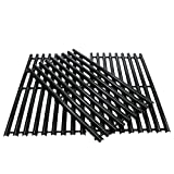 DcYourHome Porcelain Cooking Grid for Charbroil 463420507, 463420508, Kenmore 463420507, 461442513 and Master Chef 85-3100-2, 85-3101-0 Gas Grill Models, Set of 3