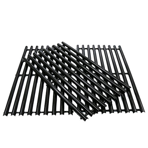DcYourHome Porcelain Cooking Grid for Charbroil 463420507, 463420508, Kenmore 463420507, 461442513 and Master Chef 85-3100-2, 85-3101-0 Gas Grill Models, Set of (Charbroil Grate)