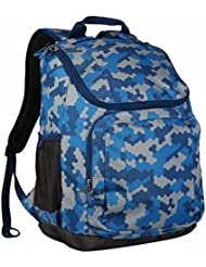 Embark 17 Jartop Backpack - Blue Camouflage Great For School Or Travel - Camo