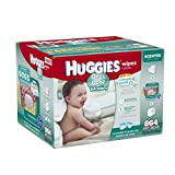 Huggies One and Done Refreshing Baby Wipes Refill Retail, 864 Count