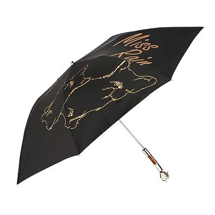 5001427d34e3 Amazon.com: JSSFQK Dog Head Handle Creative Umbrella Semi-Automatic ...