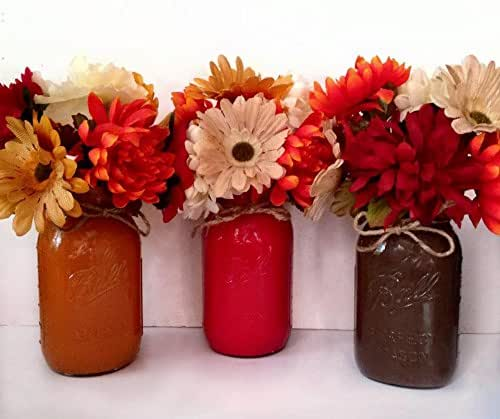 Amazon.com: Mason Jar Floral Arrangement