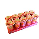 Meiji Seika OS00205 Yan-Yan Strawberry Cups, 500-Gram