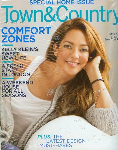 Town & Country October 2008 Kelly Klein Special Home Issue