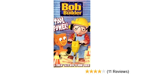 Amazoncom Bob The Builder Tool Power Vhs Jackie Cockle Movies Tv