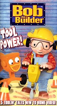 Bob The Builder Tool Power Vhs Jackie Cockle Amazonde Vhs