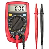 Etekcity MSR-R500 Digital Multimeter, Volt Amp Ohm Meter with Diode and Continuity Test (Red)