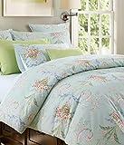 European King Size Bed Softta Luxury European FloralBedding Green King Size 3 pcs 1 Duvet Cover+ 2 Pillowcases 100% Egyptian Cotton 800 Thread Count