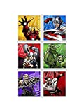 Avengers Assemble Sticker Sheets (4) by Hallmark