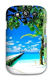 For Galaxy S3 Tpu Phone Case Cover(amazing Coco Palm Island Republic Indian Ocean Nature Other)