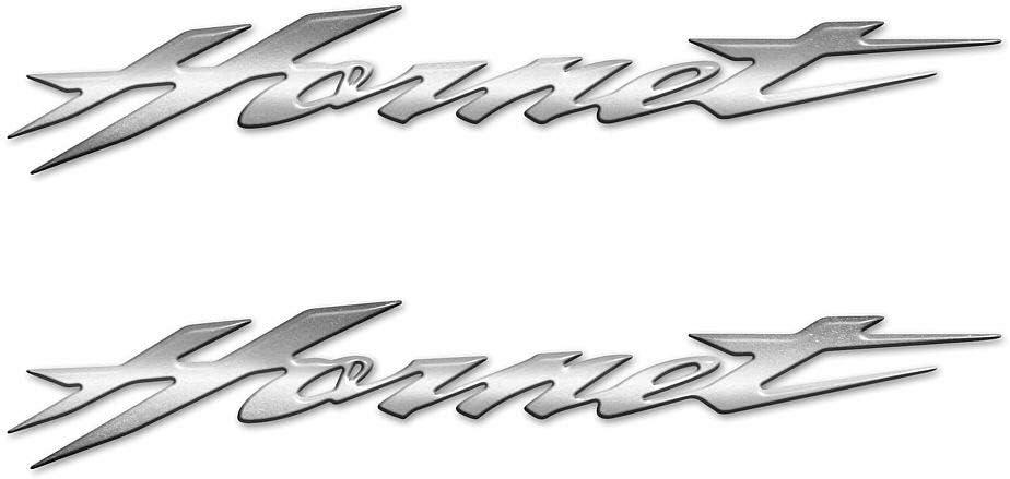 Adesivi Scritta 3d Nera Hornet Compatibili Con Moto Honda 25cm