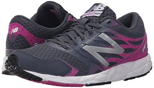 W590 De purple New Deporte Neutral Running Para Zapatillas Mujer Balance black Negro w5WW7qOfC