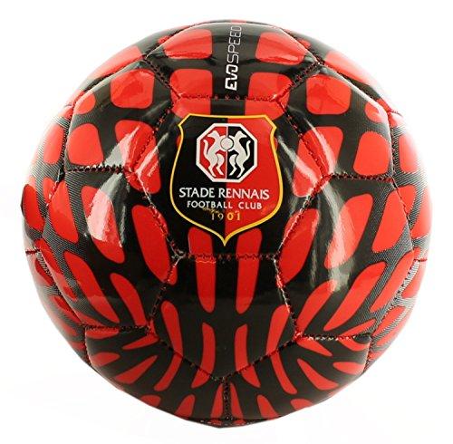 Speed Mini Ball Red–Balón Fútbol Stade Rennais Puma, color rojo, tamaño talla única Rojo