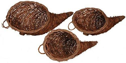 Grapevine Cornucopia. 1 basket per order (large)