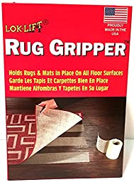 Optimum Technologies Lok Lift Rug Gripper for Large Rugs, 6-Inch by 25-Feet