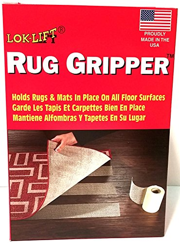 Optimum Technologies Lok Lift Rug Gripper for Large Rugs, 6-Inch by 25-Feet by Optimum Technologies