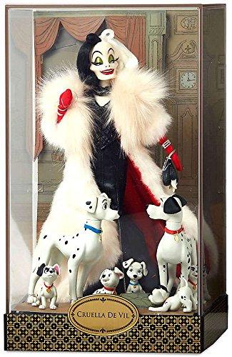 Cruella De Vil and Dalmatians Doll Set Deluxe - Limited Edition (Faux Fur Coat Limited Edition)