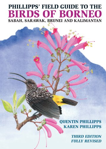 Phillipps' Field Guide to the Birds of Borneo: Sabah, Sarawak, Brunei, and Kalimantan - Fully Revised Third Edition (Princeton Field Guides)