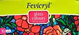 Fevicryl Glass Colours. 115mL Fevicryl Glass Colours are an innovative range of hobby colors from Pidilite, They are ready-to-use and do not require any medium, They are water-based and non-toxic. Creating stain glass effects with Fevicryl Gl...