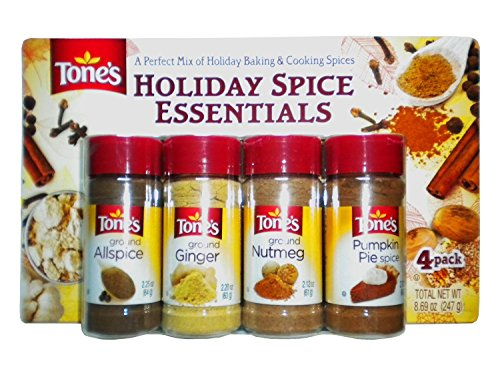 - Tone's Holiday Spice Essentials 4 Pack