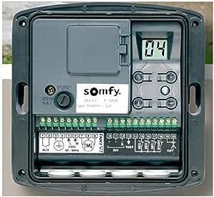 SOMFY Cuadro de mando para motorización de puerta de garaje enrollable: Amazon.es: Bricolaje y herramientas