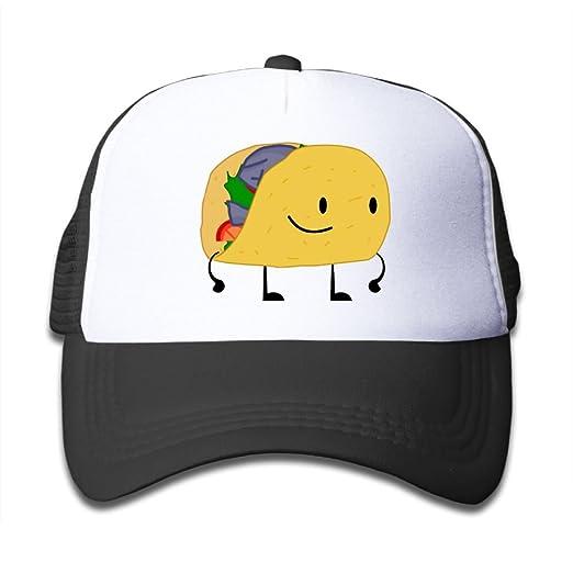Amazon.com  Elephant AN Cute Taco Mesh Baseball Cap Kid Boys Girls  Adjustable Golf Trucker Hat  Clothing cc26a0f9905