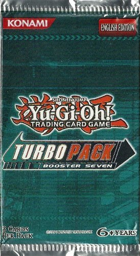 1 Pack of Yu-Gi-Oh! 5Ds TCG: Turbo Pack Booster 7