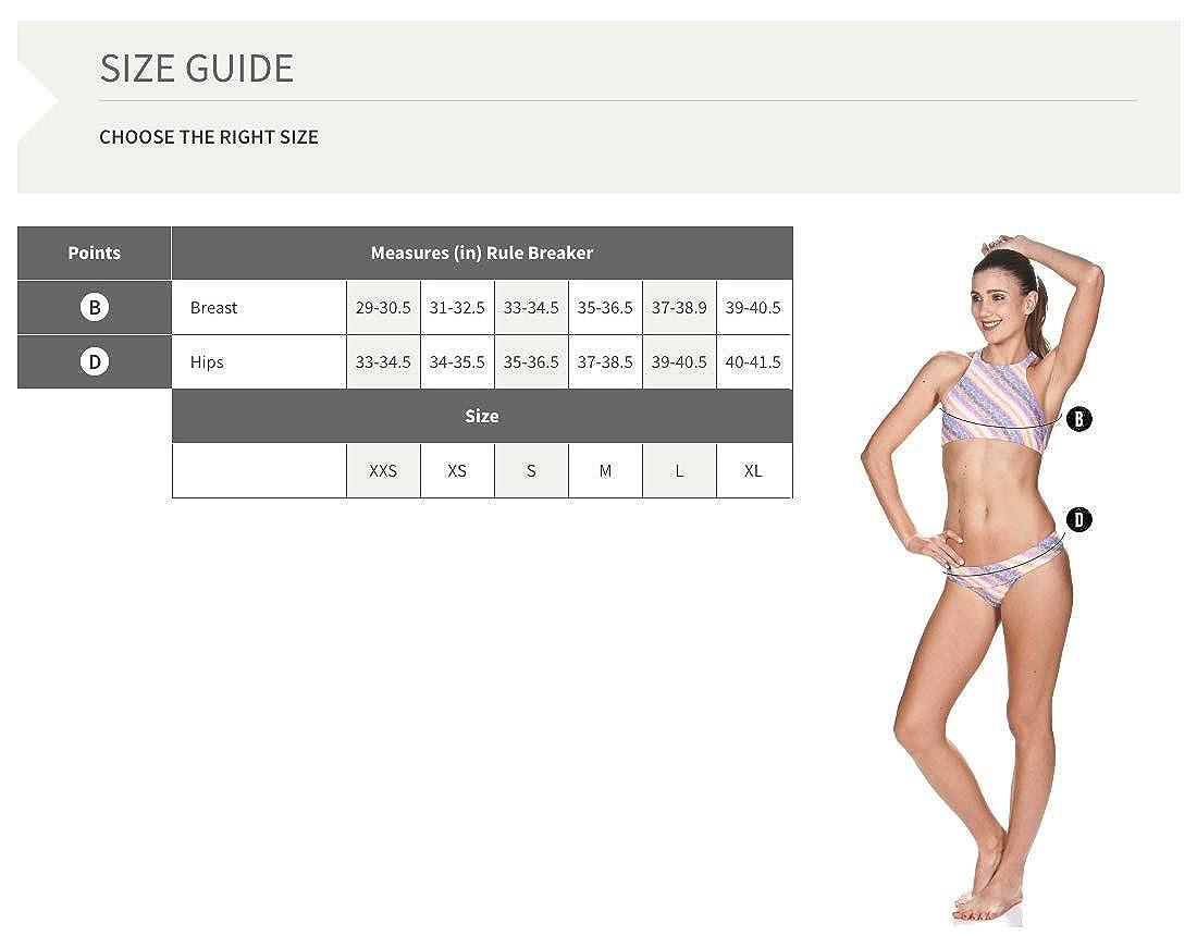 Schnelltrocknend, UV-Schutz UPF 50+, Chlorresistent arena Damen Profi Trainings Bikinioberteil Crop Think