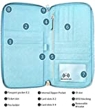 Travel wallet RFID Blocking Document Organiizer
