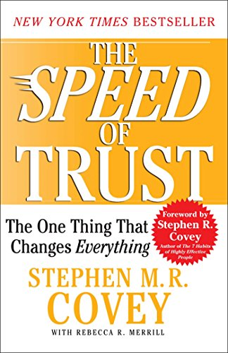 Image result for the speed of trust covey amazon
