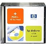 HEWLETT-PACKARD P4027AA#ABA HP 4x 4.7GB DVD+RW Media in Slim Jewel Cases - 10 Pack